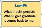 Universal Law #6