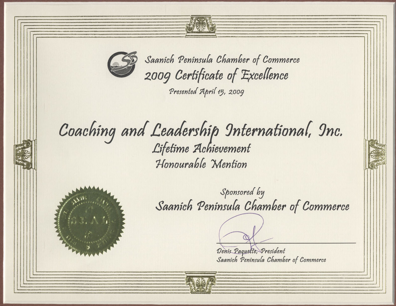 Award Winning Business and Life Coach Training Course and Coaching – Achievement Award Wording